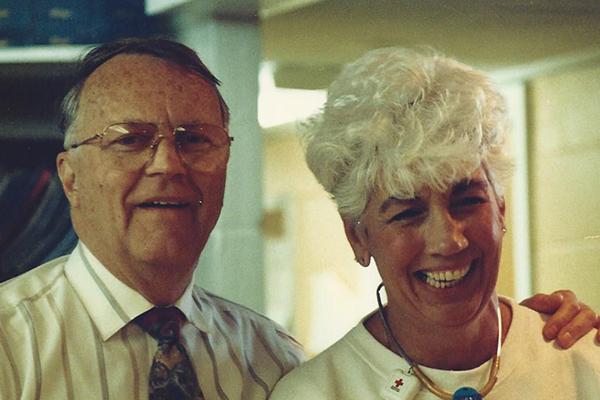 Dr. Bill Hensold & Joni Webb