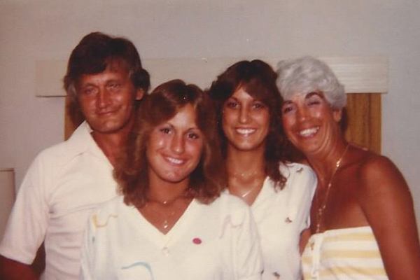 From left to right: Ron Webb, Candy Webb Henderson, Connie Webb Mitchell, Joni Doyle Webb